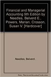 chapter 4 solution managerial accounting 9th Access accounting 9th edition chapter 4 solutions now our solutions are written  by chegg experts so you can be assured of the highest quality.