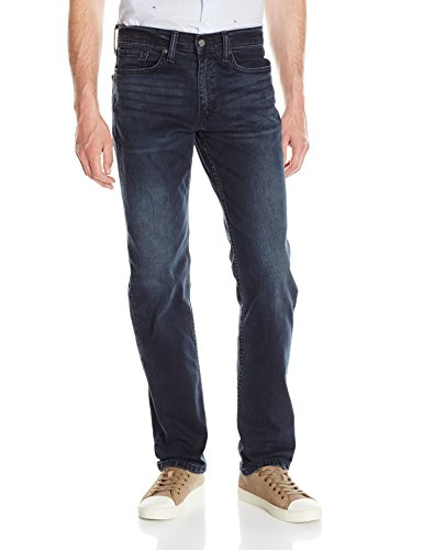 Fit Straight Leg Stretch Jeans - Levi's Men's 514 Straight Fit Stretch Jeans - 36W x 32L - Ship Yard