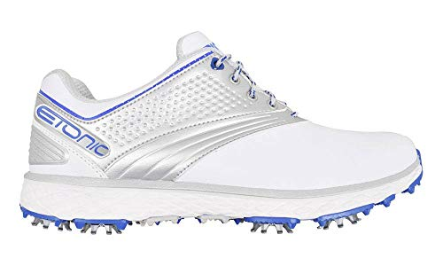 Etonic Golf- Difference Spiked Shoes White/Blue