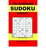 (100 CROSSWORD SUDOKU PUZZLES) BY Greene, Peter(Author)Paperback on (11 , 2005)