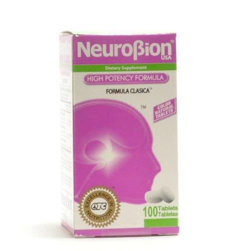 NeuroBion High Potency Classic Formula 100 Tablets