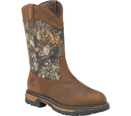 Rocky Kids Boys Brown Leather Ride Wellington Waterproof - Rocky Kids Cowboy Boots