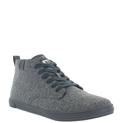 Vlado Footwear Men's Leon Mid Top Canvas Sneaker Grey Mono footaction online clearance enjoy pre order sale online visit new online shop for cheap online DYT8KWxiIa