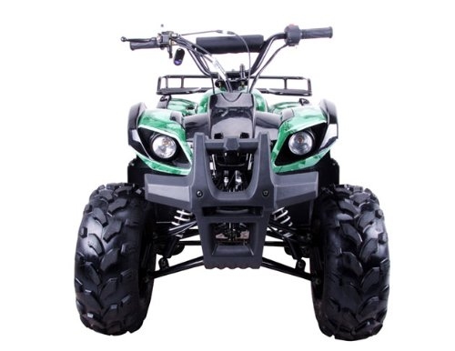 125cc Four Wheelers 8'' Tires with Reverse, Red