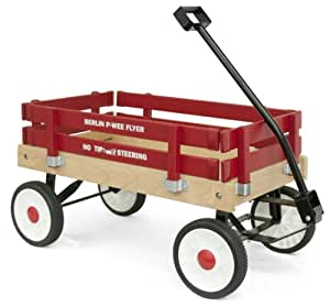 Berlin F257 Amish-Made Pee-Wee Flyer Wagon, Red