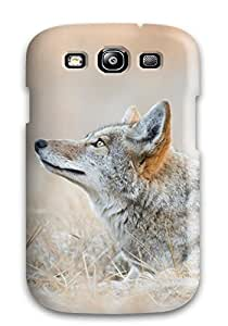 Best 6020431K64677319 Hot New Coyote Resting In A Field In Yosemite National Park Case Cover For Galaxy S3 With Perfect Design