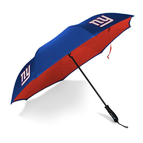 (Betta Brella NFL New York Giants Better Brella Wind-Proof Umbrella)