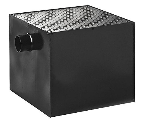 Price comparison product image Jay R. Smith 800-Y03-20 Grease Interceptor with Capacity 40, 20 Psi