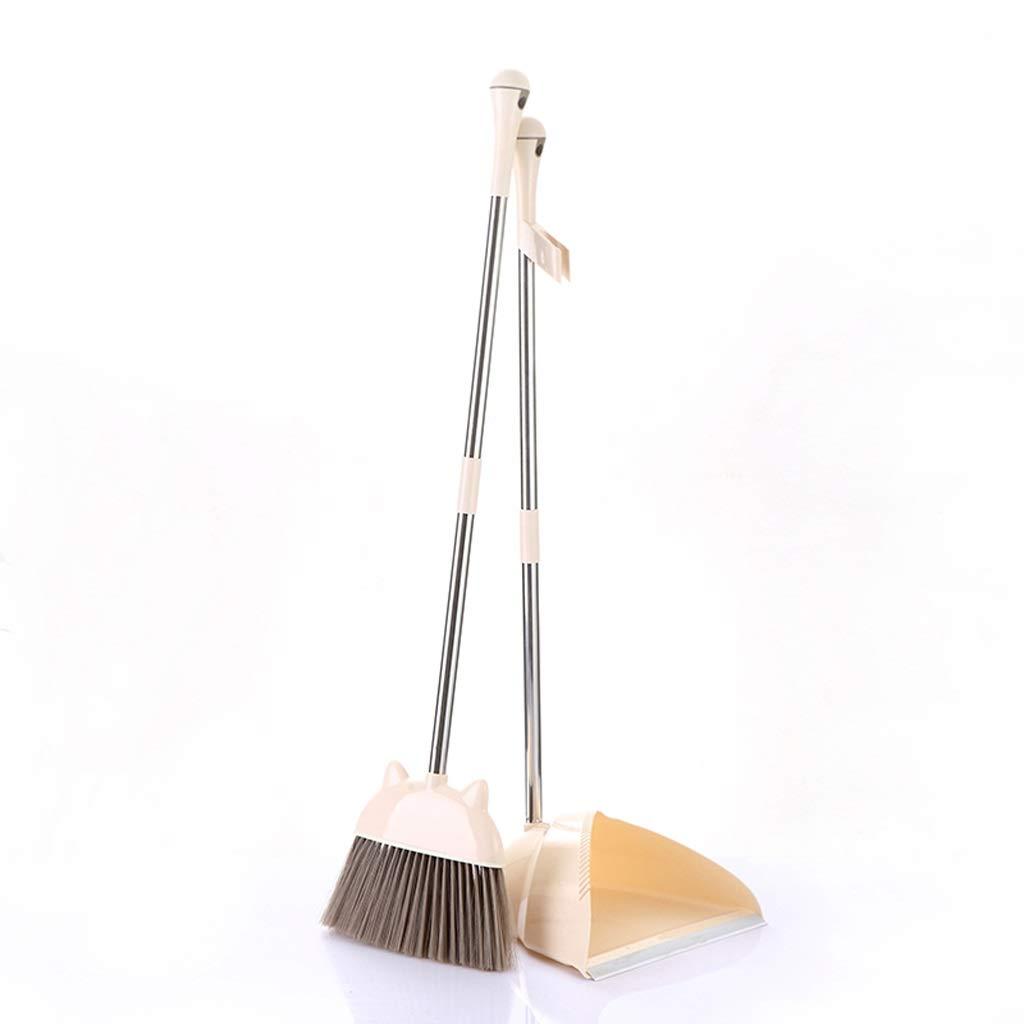 Lsxlsd Dustpan And Brush Cleaning Set Broom Dustpan Long Handle Broom Upright Broom Dustpan And Brush by Lsxlsd