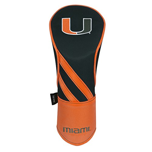 Miami Hurricanes Driver Headcover (Team Effort Miami Hurricanes Fairway Headcover)