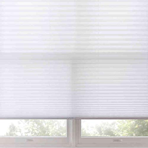 Real Simple Cordless Pleated Shade in Flurry (29-INCH X 72-INCH)