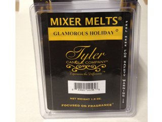 Tyler Candle Mixer Melts Wax Potpourri - Glamorous Holiday 14195