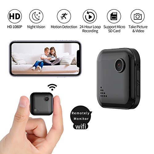 🥇 Mini Spy-Camera-WiFi with Audio and Video Recording