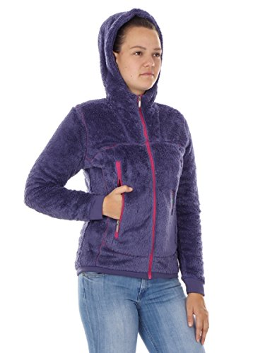 PRIMEMOTION FLEECEJACKE FUNKTIONSJACKE JACKET LILA KAPUZE WARM ÖKO Z2TOP88dmR
