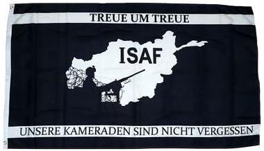 Fahne Flagge Isaf Afghanistan Treue Neu 90 X 150 Cm Amazon