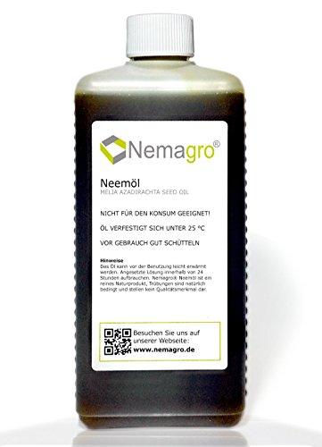 Nemagro® Neemöl - Qualitatives kaltgepresstes Öl des Niembaums - 250ml