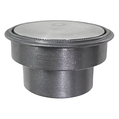 Flush Mount Gas Cap (Rullo Stealth Paintable Raw Aluminum Pop Up Gas Cap w/ Steel Weld in Bung)