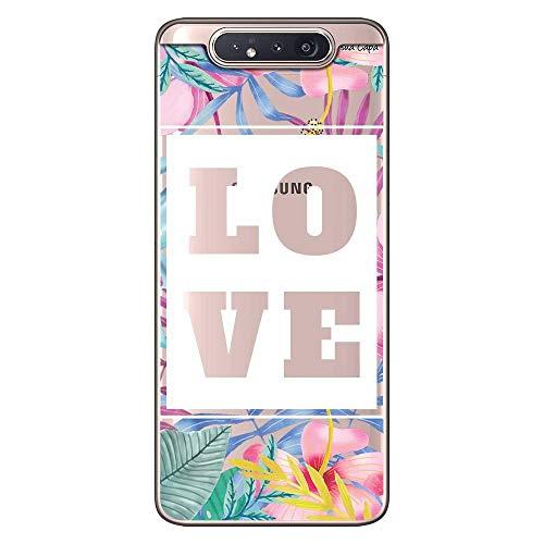 Capa Personalizada Samsung Galaxy A80 A805 - Floral - FL22