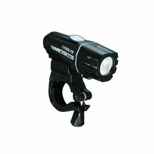 Cygolite 2014 Streak 280 Lumen USB Rechargeable Bicycle Headlight