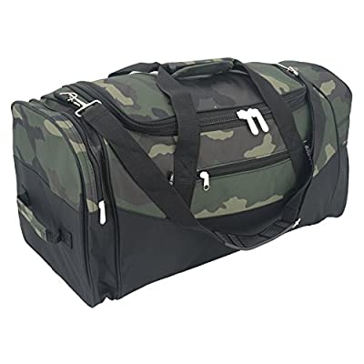 Giraffe Animal Pattern Sports Gym Bag with Shoes Compartment Travel Duffel Bag for Men Women