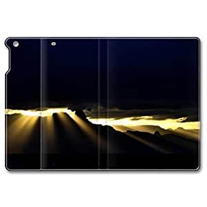 iPad Air Case, Shock-Absorption/Impact Resistant PU pc hard Personalized Protective Folio Smart Case Cover(Automatic Wake/Sleep Function) for iPad Air - Golden Rays