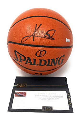 Signed leather basketball Kyrie Irving