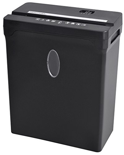 Sentinel 12-Sheet High Security Cross-Cut Paper/Credit Card Shredder with 2.5 Gallon Waste Basket ( FX121B )