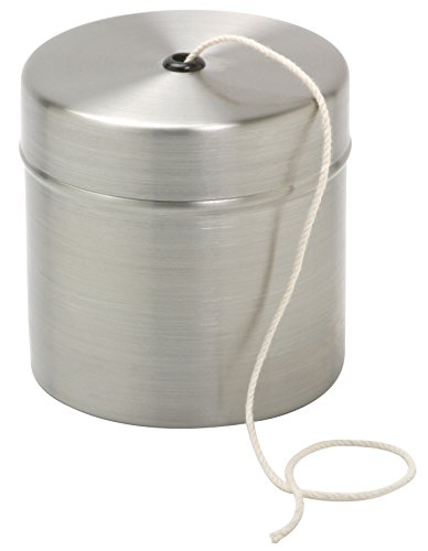 Norpro Stainless Steel Holder with Cotton Cooking Twine, 220 feet - Kitchen Twine Dispenser