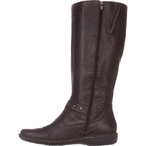 B.O.C. Womens Austin Leather Closed Toe Knee High Riding Boots, Brown, Size 6.5 (Born Womens Boots)