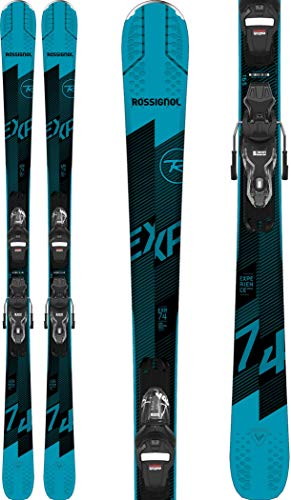 Rossignol Experience 74 Mens Skis W/Look Xpress 10 GW Bindings Black