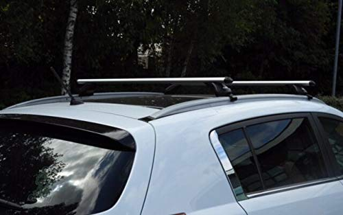 with flush rails UKB4C Locking Aluminium Roof Rack Cross Bars fits Hyundai Tucson 2015-2019