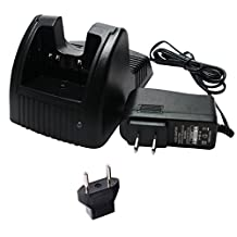 Yaesu VX-170 Charger with EU Adapter - Replacement for Yaesu FNB-83 Two-Way Radio Chargers (100-240V)