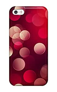 New Fashion Premium Tpu Case Cover For Iphone 5/5s - Red Abstract
