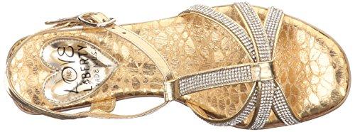 Love Liberty Sandal Gold Ll Caron Women's amp; Wedge BBWcqFSwr5