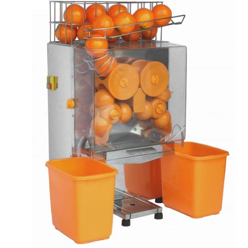 Sanven Lemon Orange Squeezer Commercial Juicer Auto Feed Squeeze 20-22 Oranges Per Mins 4-7 Glasses Per Mins Safety Cut Off...