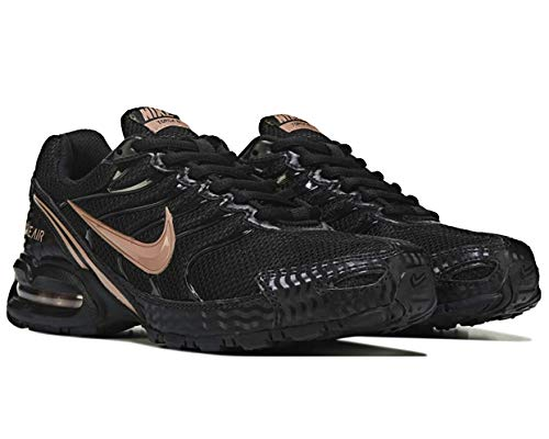 Nike Women's Air Max Torch 4 Running Shoe Black/Metallic Rose Gold/Atmosphere Grey Size 8 M US (Best Nike Running Shoes Of All Time)