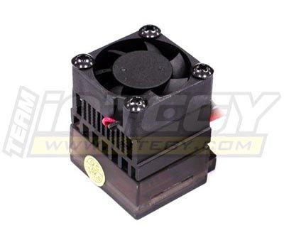 Integy RC Model Hop-ups C23900 Rock Crawler ESC w/Cooling Fan (Limit: 55T x 2 Motors) ()
