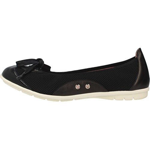 Pretty Ballerinas Zapatos Bailarina Para Mujer, Color Negro, Marca, Modelo Zapatos Bailarina Para Mujer Negro Negro