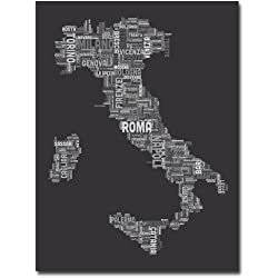 Italy V by Michael Tompsett, 18x24-Inch Canvas Wall Art