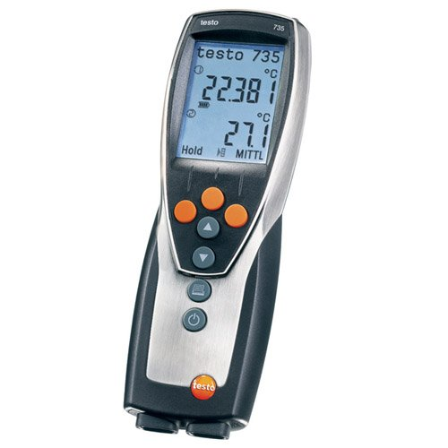 Testo 0560 7351 ABS Compact Pro Thermometer, -4 to 122 Degree F by Testo