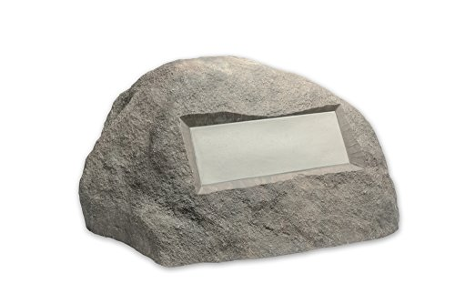 Outdoor Essentials Faux Address Rock, Grey ()