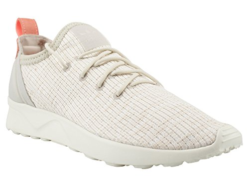 adidas Women's Zx Flux Adv Virtue Sock Training Running Shoes, Beige, One Size Orange
