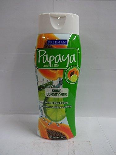 Freeman Papaya and Lime Shine Conditioner 13.5 fl oz (400 ml) (Freeman Papaya)