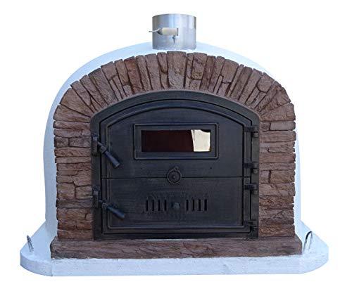 Amazon.com: Ventura - Horno de pizza de ladrillo apilado ...