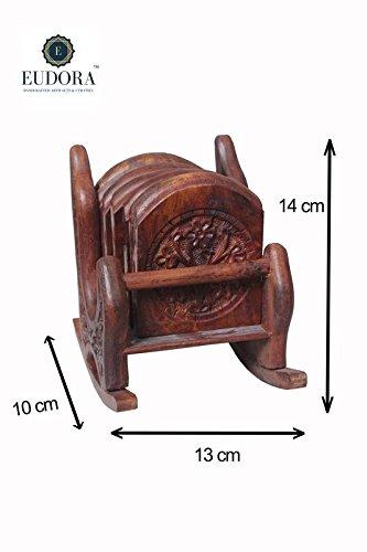 Awe Inspiring Buy Eudora Wooden Rocking Chair Coaster Set Summer Sale Ibusinesslaw Wood Chair Design Ideas Ibusinesslaworg