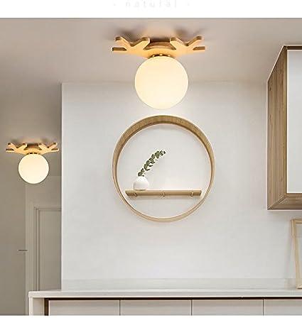 Shop 6 Luz de techo Salón LED lámpara de pasillo balcón baño ...