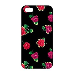Evil-Store Charming flowers 3D Phone Case for iPhone 5s