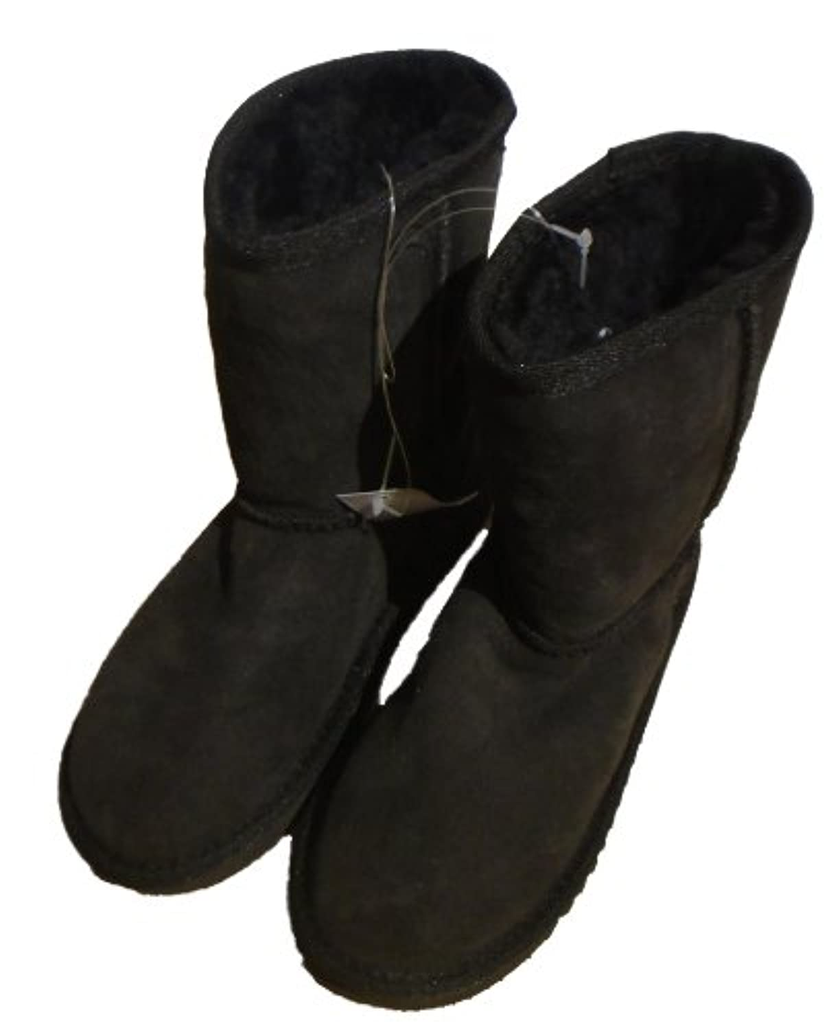 Kirkland Junior Kids Shearling Boots Chocolate Brown (Adult/Youth 1)