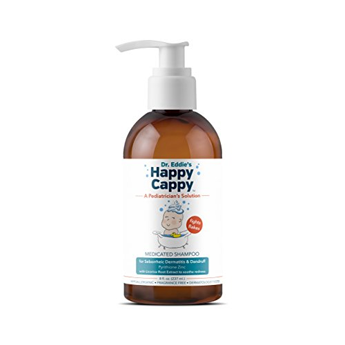 Dr. Eddie's Happy Cappy Medicated Shampoo for Children, Treats Dandruff and Seborrheic...