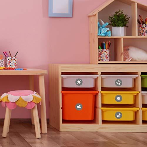 Spielzeug Kinder Ordnungssticker Möbelaufkleber Für Schönes
